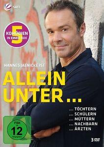 3-DVDs-ALLEIN-UNTER-Hannes-Jaenicke-NEU-OVP-amp