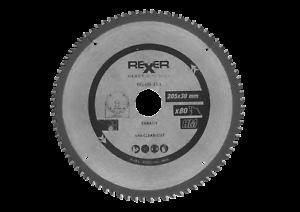 Kreissägeblatt HM 205 mm 60 Zähne Bohrung 30 mm