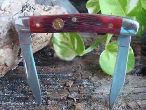 Collectible-2-blades-Elk-Ridge-ER-211MRB-GENTLEMAN-039-S-small-pocket-KNIFE