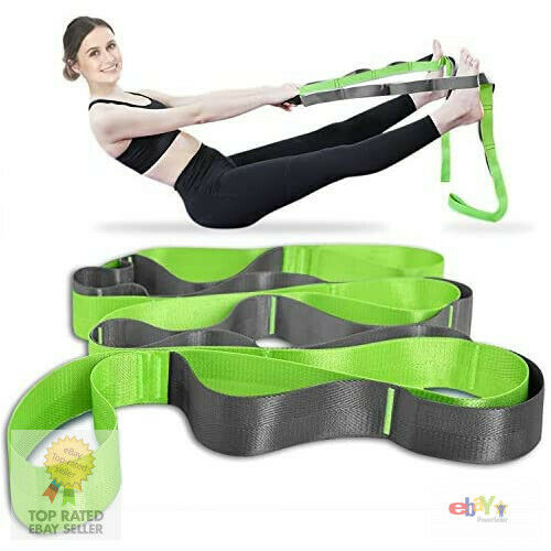 Onory Yoga Strap Stretch Straps for Physical Therapy with Exercise Booklet