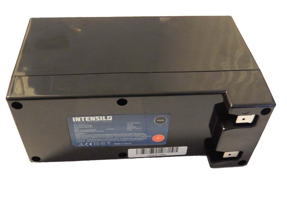 Intensilo original® batería 9. 000mAh para 2B AMBROGIO L200 Deluxe