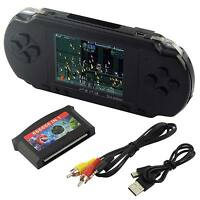Us Stock Pxp3 Game Console Handheld Portable 16 Bit Retro Video 150+ Games Gift