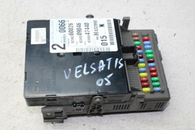 Renault Vel Satis Bj 05 Fuse Box 8200309046 8200447440 A
