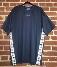 Size XL Adidas Originals TNT Trefoil Print Tape Wind Track