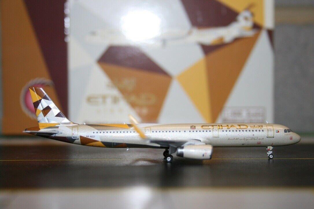 Phoenix 1 400 Etihad Airbus A321-200 A6-AED (PH11059) Die-Cast Modell Plane