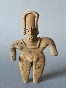 Dignitaire-Colima-Mexique-100-avant-a-250-apres-Jc-art-precolombien-precolumbian