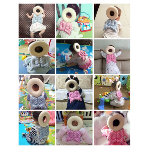 Baby Kids Head Protection Pillow Pad Toddler Head Back Care Cute Resistance~GQ