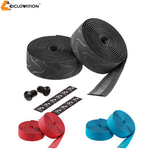 Ciclovation-Basic-Road-Bike-Handlerbar-Bar-Tape-with-Suede-Touch-Tire-Pattern