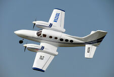 Giant 1/4 Scale CESSNA 421C Golden Eagle scratch build R/c Plane Plans 118 in WS