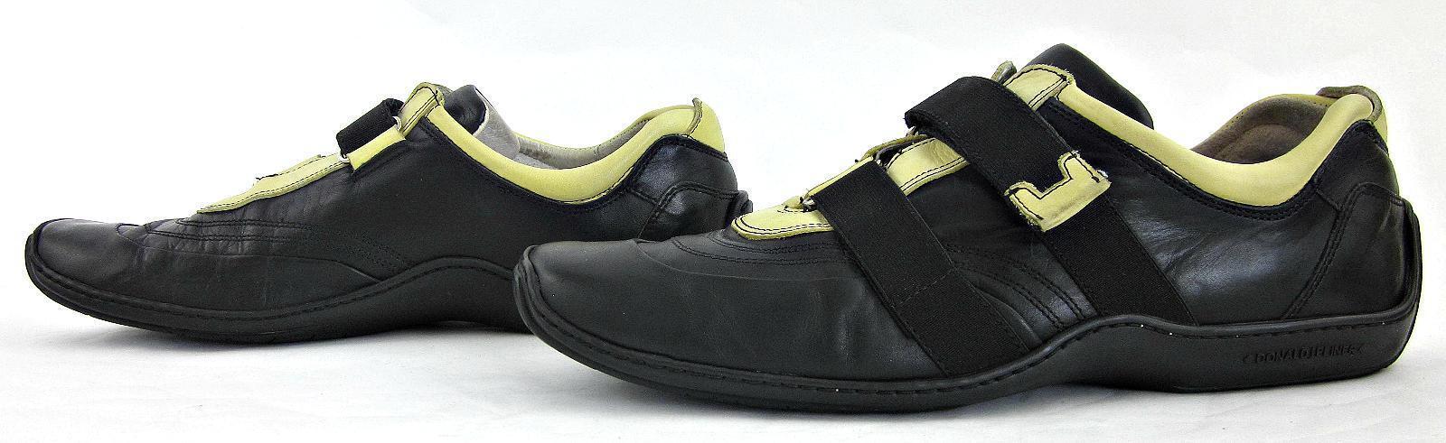 Donald J Pliner Sport Light Espaci Driving Loafers Black Light Sport Yellow 10 Fits 10.5 30c52d