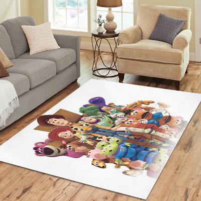 Play Mat Custom Toy Story Area Rug Soft