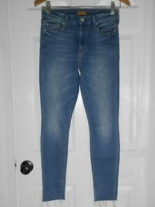 4263b12c8d01 MOTHER Looker Ankle Fray Super Skinny Jeans in Birds of Paradise ...
