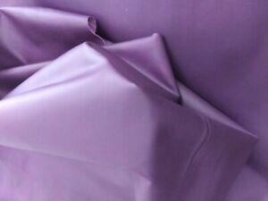 Pre Thin. Cut Italian Lambskin leather Cut skin Lamb Nappa White  1 oz