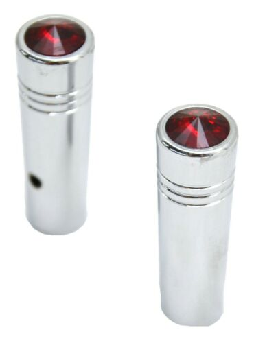 """GG Toggle Switch Extensions for Kenworth Red Jewel Chrome 1 7//8/"""" #92875 Pair"""