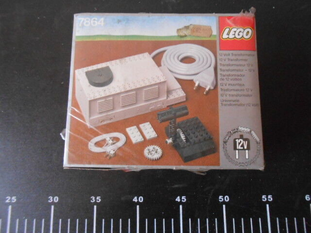 ˚  LEGO 7864 TRANSFORMER SPEED CONTROLLER 12V Sealed Trasformatore 。˚
