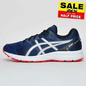 Asics-Jolt-Men-039-s-Running-Shoes-Fitness-Gym-Workout-Trainers-Navy