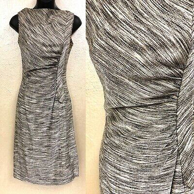 Vintage 1960s Dress Silver Beaded Cocktail Dress By Sydney North
