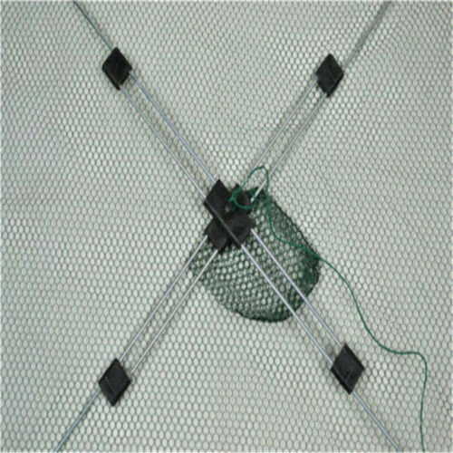 Cage Trap Small Fish Shrimp Crab Minnow  60cm Folded Baits Cast Mesh Fishing Net