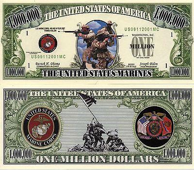 U.S. Marine Corps Million Dollar Novelty Money