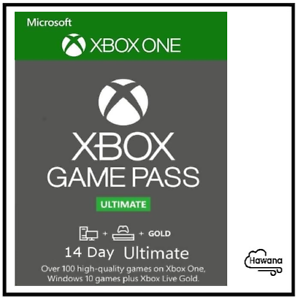 Xbox Game Pass Ultimate - Xbox Live 14 Day/2 Week (Xbox Live Gold + Game Pass)