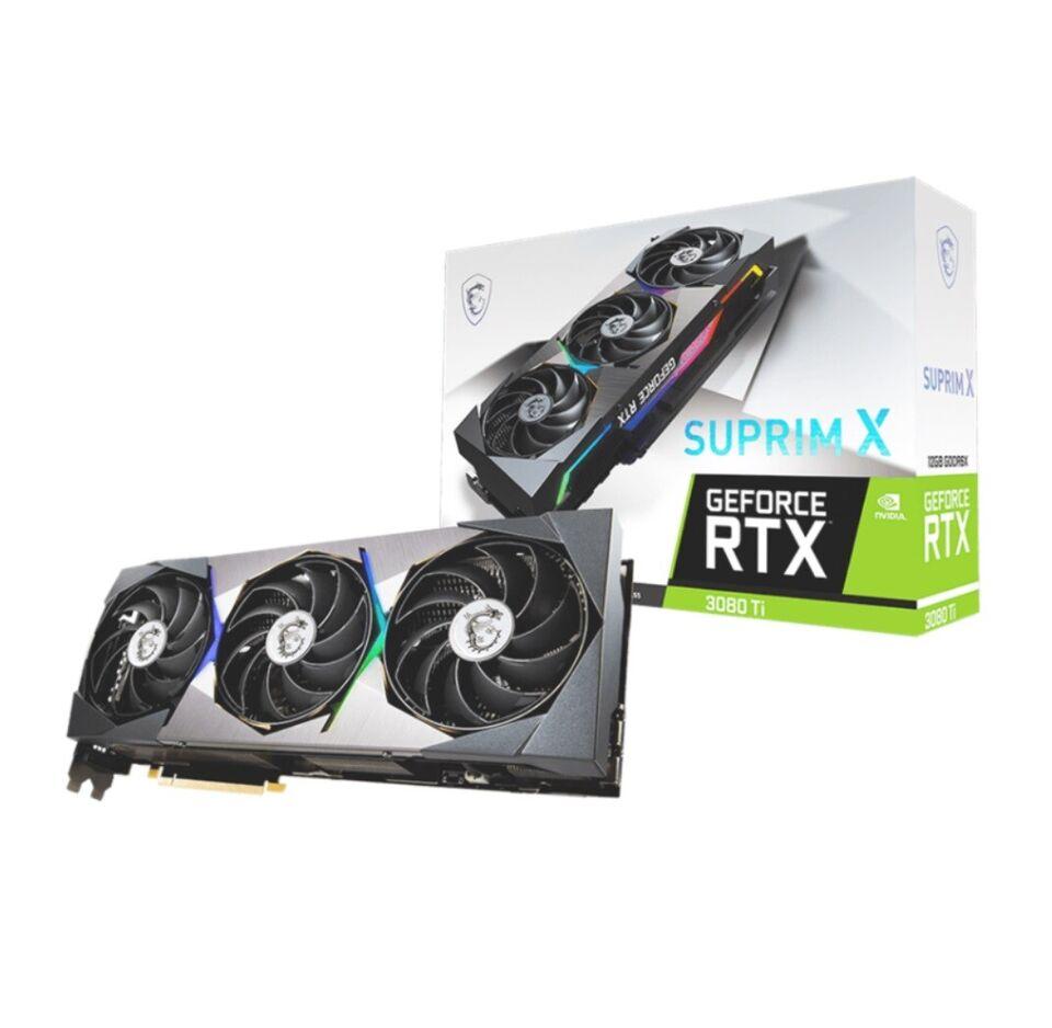 RTX 3080 Ti MSI, 12 GB RAM, Perfekt