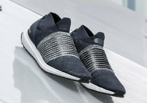 4bfdaa828 Image is loading Adidas-Originals-Ultraboost-Ultra-Boost-Laceless-Legend-Ink -