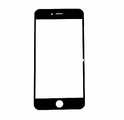 10 X New Replacement 4.7 IN Outter Glass Lens Screen Cover for iPhone 6 6G Black