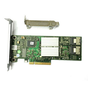 New-Dell-PERC-H310-8-Port-6Gb-s-SAS-Adapter-RAID-Controller-HV52W-From-US-Ship