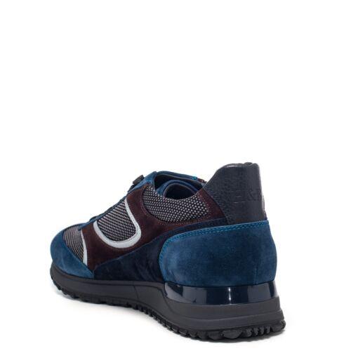 Marrone E2045611 Azzurro Hipster Camoscio Blaine Harmont Training nwIEqYt8IX