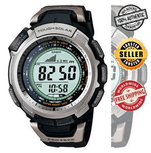 Casio-PRG-110-1-PRG-110-1VDR-Pro-Trek-Triple-Sensor-Tough-Solar-100m-Watch