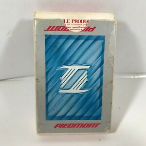 Vintage PIEDMONT AIRLINES Playing Cards