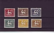 A121-Wurttemburg-SGM245-M250 mm 1920 sellos de servicio municipal-Stag