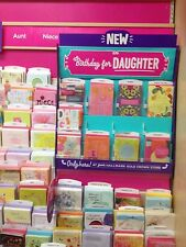 Closeout HALLMARK CARD Lot Of 128 Assortment Greeting Cards. Birthday, Etc.