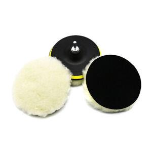 5Pcs-6-Inch-Polishing-Buffe-Pad-Woolen-Polishing-Brush-Waxing-Pads-Kits-With-M14