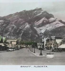 Postcard-Banff-Alberta-Canada-Vintage-RPPC-Hasn-t-Tinted-P25