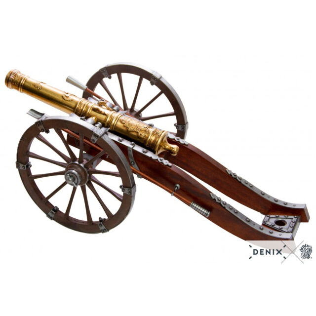 """XL Scale Model Cannon French Louis XIV 29"""" 18th Century Field Artillery New"""