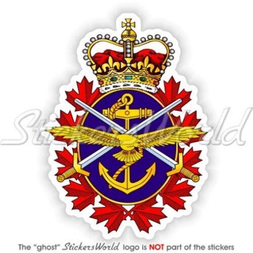 "CANADA FORZE ARMATE Canadese Emblema CF Adesivi in Vinile 100mm 4/"" Sticker"