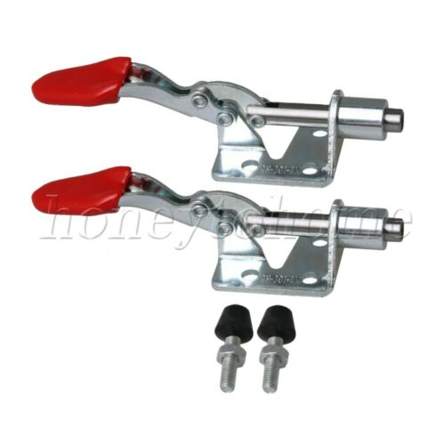 Details about  /2pcs GH-301-E Tool Toggle Clamp Holding Adjustable Fast Release for Welding