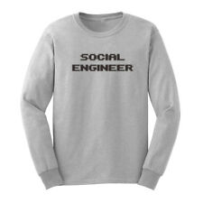 c17bb4007 item 4 Social Engineer Hacker Funny Geek Long Sleeve T-Shirts Mens Tee  -Social Engineer Hacker Funny Geek Long Sleeve T-Shirts Mens Tee