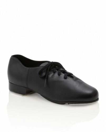 cg19 capezo cadence black leather tap shoes teletone heel and toe taps