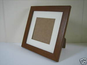 A4 Certificate Teak Effect Photo Picture Frame Free standing
