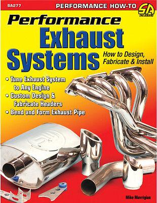 How to Build Custom Engine Headers & Custom Exhaust Systems Book Cartech SA277