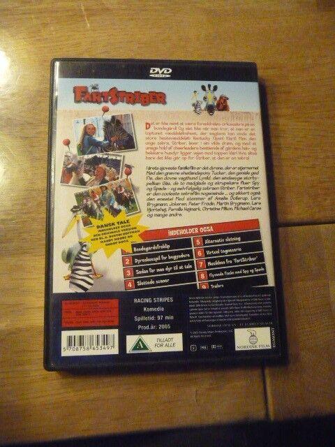 fartstriber, DVD, tegnefilm