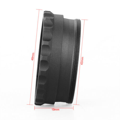 Kill Flash Tactical Scope Cover Red Dot Sight Lens Protector Lens Cover For SRS