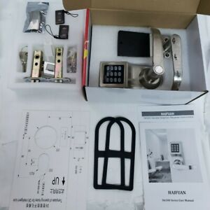 D6300 Digital Electronic Door Lock RFID Smart Home Front Entry Right Hand