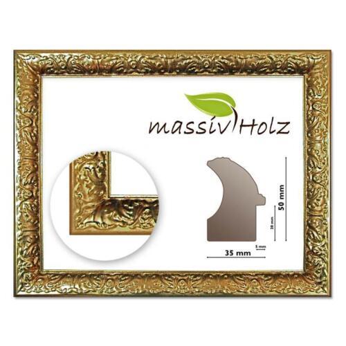 Rahmen barock verziert Goldrahmen Barockrahmen 267 ORO gold