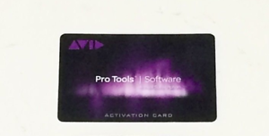 Avid Pro Tools 12 2018 12.8.3 Annual Subscription Software Activation Card