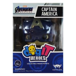 digIT Heroes Marvel Avengers Endgame Vinyl Figure Finger Puppet CAPTAIN AMERICA