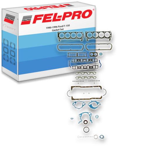Sealing Gaskets hd Fel-Pro Gasket Set for 1990-1996 Ford F-150 FelPro