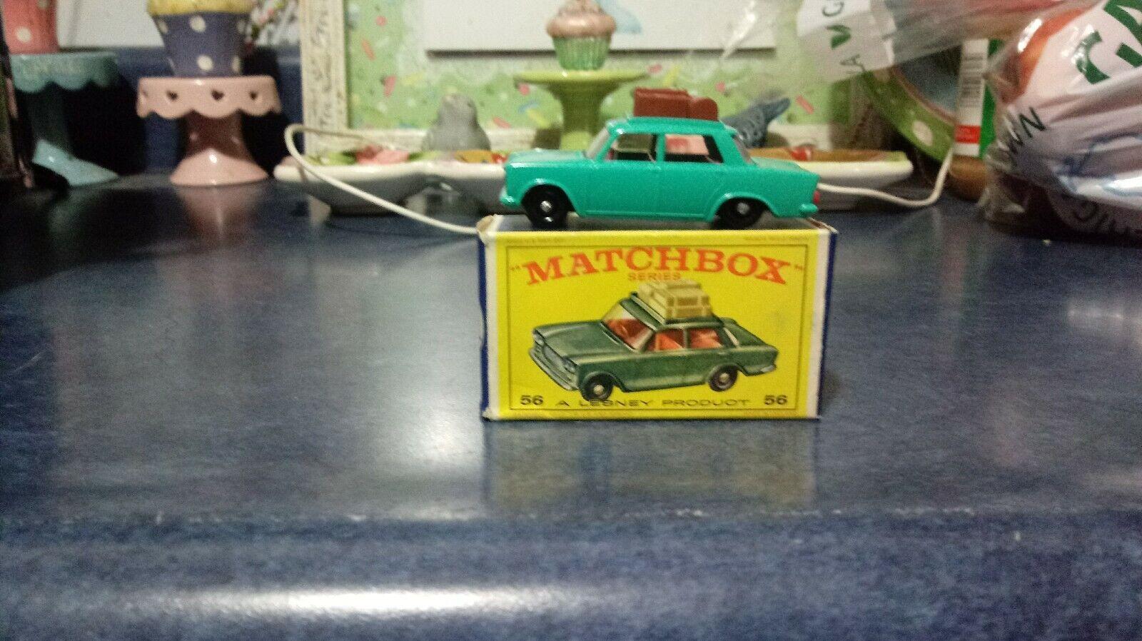 LESNEY MATCHBOX FIAT 1500 MINT IN BOX NOS